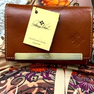 Patricia Nash tri-fold wallet